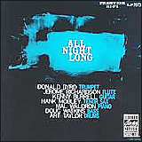 Donald Byrd and Kenny Burrell / All Night Long