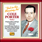 Cole Porter / But In The Morning, No